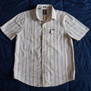 Volcom Casual Short Sleeve Button Up Shirt